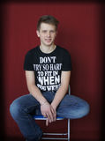 Junger Teenager Lizenzfreies Stockfoto
