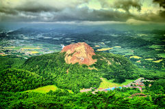 Junger Vulkan Lizenzfreie Stockfotografie