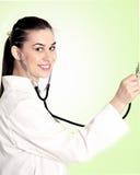 Junger weiblicher Doktor Lizenzfreie Stockfotografie