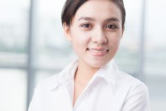 Junger weiblicher Führer Stockfotos