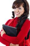 Junger weiblicher Kursteilnehmer Lizenzfreie Stockfotos