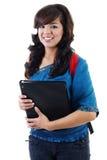 Junger weiblicher Kursteilnehmer Lizenzfreie Stockfotografie