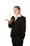 Junger weiblicher Rechtsanwalt Lizenzfreies Stockbild