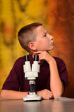 Junger Wissenschaftler stockfotografie