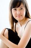 Junges asiatisches Baumuster Lizenzfreie Stockbilder