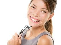 Junges asiatisches Geschäftsfrauportrait Lizenzfreies Stockfoto