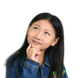 Junges asiatisches Kind 008 Lizenzfreies Stockfoto