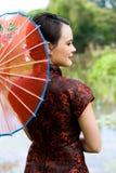 Junges asiatisches Mädchen stockfotos