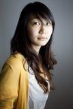Junges asiatisches Mädchen Stockbilder