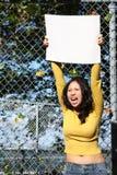 Junges asiatisches Mädchen Lizenzfreies Stockbild