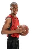 Junges Basketball-Spieler-Lächeln Lizenzfreie Stockfotografie