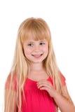 Junges blondes Mädchen Lizenzfreies Stockbild