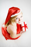Junges blondie Mädchenportrait Lizenzfreies Stockfoto