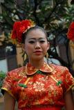 Junges chinesisches Mädchen Stockfotos