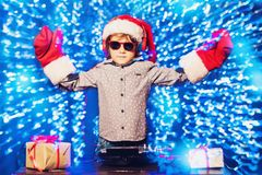 Junges DJ an der Partei stockfotografie