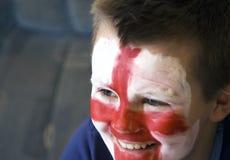 Junges englisches Teamgebläse. Stockbild