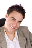 Junges Erwachsenlächeln Lizenzfreies Stockbild