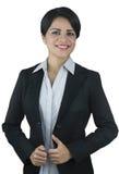 Junges Geschäftsfraulächeln Stockbilder