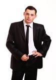 Junges Geschäftsmannporträt Stockbild