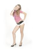 Junges hübsches Mädchen Lizenzfreies Stockfoto
