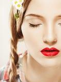 Junges hübsches Mädchenportrait Stockfoto