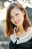 Junges japanisches Mädchen Stockfotos