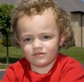 Junges Jungen-Portrait Stockbilder
