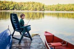 Junges Jungenfischen Stockfoto