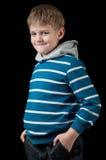 Junges Jungenportrait Lizenzfreies Stockfoto