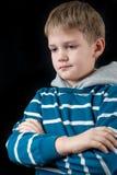 Junges Jungenportrait Stockbilder