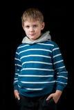 Junges Jungenportrait Lizenzfreie Stockfotografie