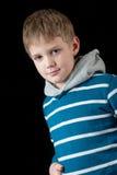 Junges Jungenportrait Lizenzfreies Stockbild