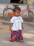 Junges kambodschanisches Kind Lizenzfreie Stockfotos