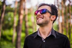 Junges kaukasisches Mannporträt Lizenzfreie Stockfotos