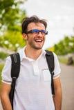 Junges kaukasisches Mannporträt Lizenzfreie Stockfotografie