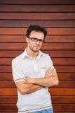 Junges kaukasisches Mannporträt Stockbilder