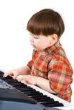 Junges Kleinkind stu, zum von Musik zu spielen Lizenzfreie Stockfotos
