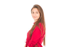 Junges lateinisches Mädchen Stockfoto