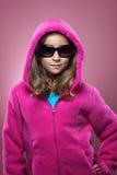 Junges Mädchen-Art- und Weiseportrait Lizenzfreie Stockfotografie