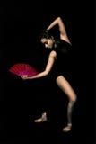 Junges Mädchen, Ballerina, lizenzfreie stockbilder
