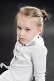 Porträt des jungen Mädchens Stockbild