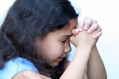 Junges Mädchen-Denken Stockfotografie