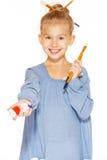 Junges Mädchen - Maler lizenzfreies stockfoto