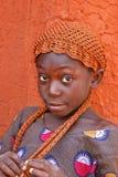 Junges Mädchen in Mali Stockfotografie