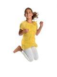 Junges Mädchen-Springen Lizenzfreie Stockfotografie