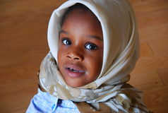Junges moslemisches Mädchen Lizenzfreies Stockbild