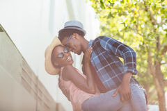 Junges Paar-Tanzen Stockbilder