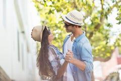 Junges Paar-Tanzen Lizenzfreie Stockbilder