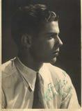 Junges rumänisches Mann-Porträt Lizenzfreies Stockfoto