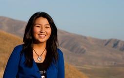 Junges schönes asiatisches Mädchen Lizenzfreie Stockfotos